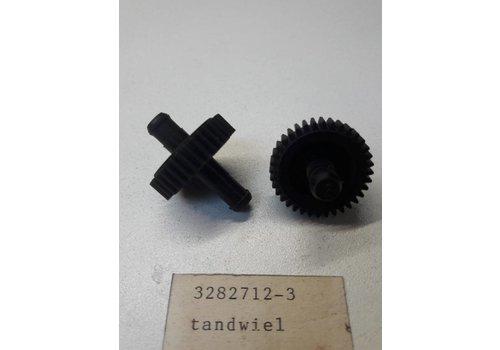 Tandwiel kachelbediening 3282712 NIEUW '80-'86 Volvo 340