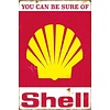 Non-original Metal logo facade board You can be sure of Shell