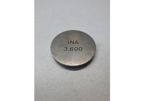 Valve adjustment plate 3.60mm B172 / D16 engine 3287532 NEW Volvo 340, 440