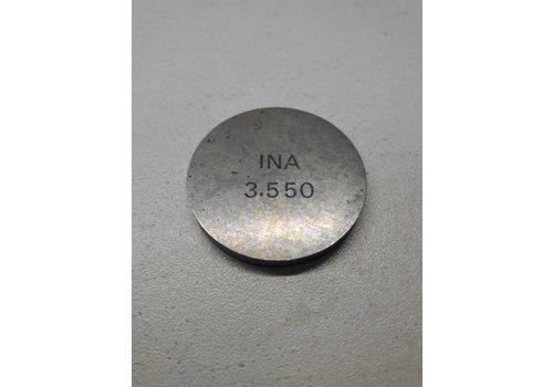 Valve adjustment plate 3.55mm B172 / D16 engine 3287533 NEW Volvo 340, 440