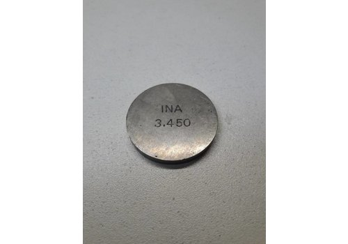 Valve adjustment plate 3.45mm B172 / D16 engine 3287535 NEW Volvo 340, 440
