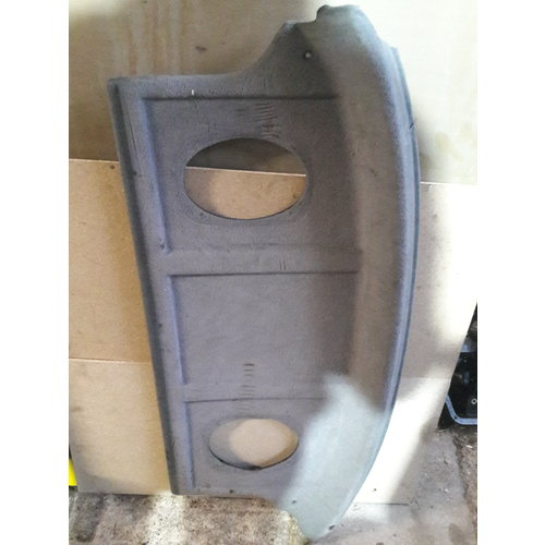 Parcel shelf 3410681-5 uses Volvo 440