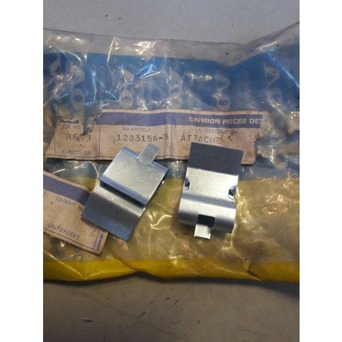 Trim strip clamp bumper strip 1203156-3 NEW Volvo 240, 260