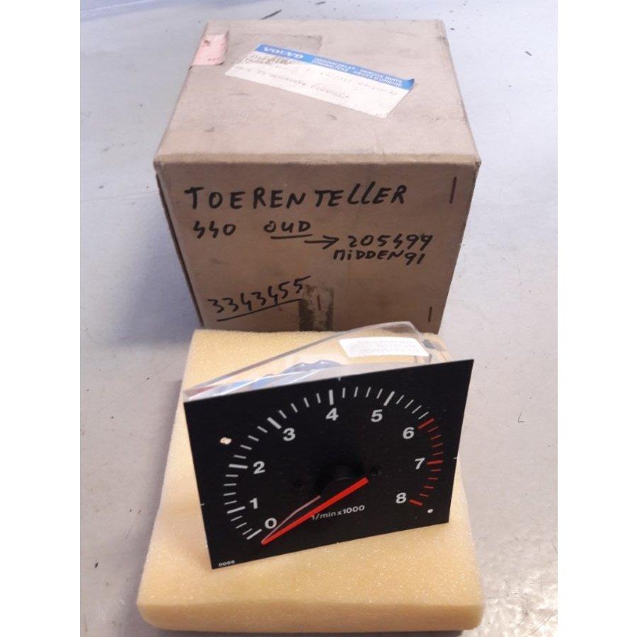 Toerenteller klok 3343455-6 NIEUW  Volvo 440