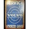 Volvo Metalen logo gevelbord Service Volvo authorized garage
