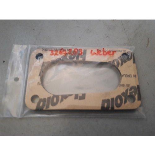 Isolatieflens voetpakking Weber carburateur 3267283 Volvo 340