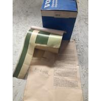 Striping kit bande trunk rear green 3277713-8 NOS Volvo 343, 345