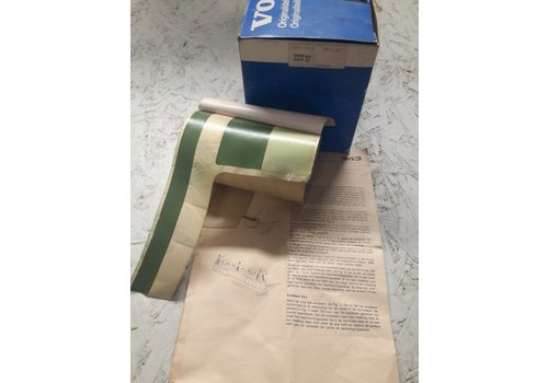 Striping kit bande trunk rear green 3277713-8 NOS Volvo 343, 345
