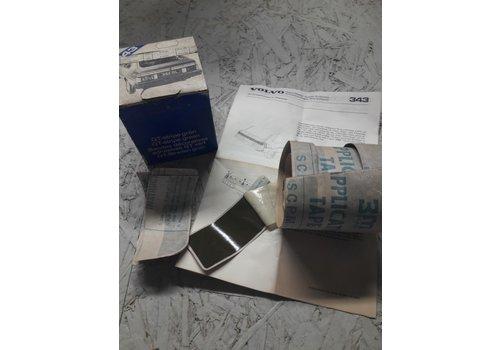 Striping kit kofferbak achterzijde groen 284452-0 NOS Volvo 343, 345