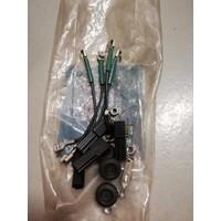 Electrische kabel airco B17/B19/B21/B23 motor 1212727 NOS Volvo 240, 260
