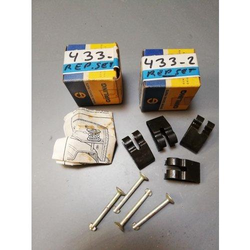 Brake shoe mounting set 3104433 NOS DAF 46, 66, Volvo 66