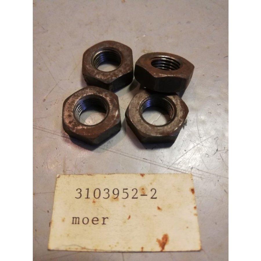Lock nut steering ball wheel R-thread 3103952 NOS DAF 33