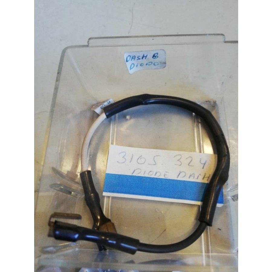 Diode instrument panel clock set 3105324 NOS DAF, Volvo 66