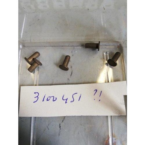 Klinknagel remvoering 3100451 NOS DAF 44