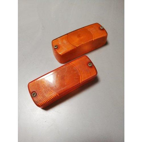 Glass flashing light bumper 3100548 NOS DAF