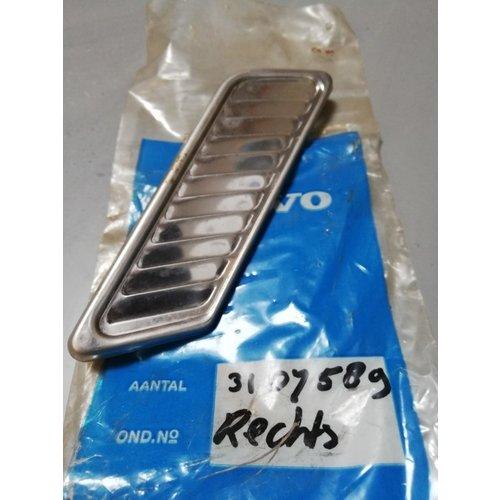 Rooster chroom RH 3107589 NOS DAF 66, Volvo 66
