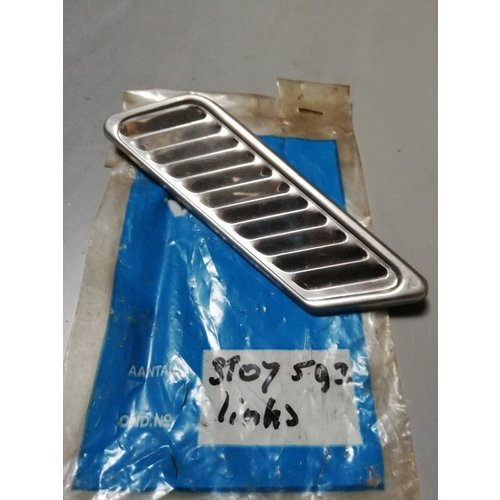 Grill chrome LH 3107593 NOS DAF 66, Volvo 66