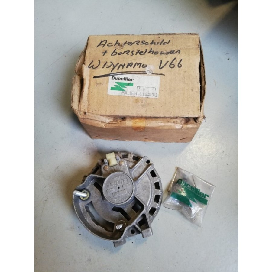 Rear shell dynamo with carbon brushes 618302 NOS Volvo 66