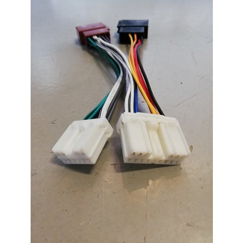 Connection cable ISO car radio 321352 NEW Volvo 400, 800, S40, V40, S70, V70