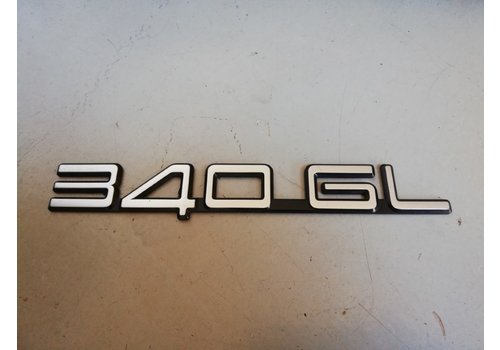 Lettering emblem on the rear of the trunk 3202376-4 Volvo 340