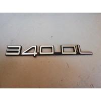 Belettering embleem achterzijde kofferbak 3202375-6 Volvo 340