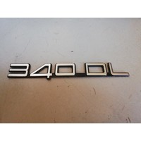 Lettering emblem on the rear of the trunk 3202375-6 Volvo 340