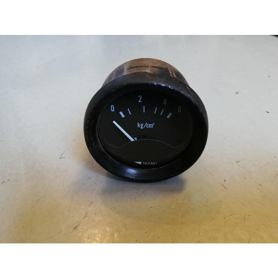 Oil pressure gauge Yazaki 12Volt 51496-200 used Volvo 200 series