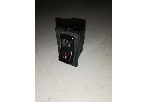 Hazard lamp switch 1258494 used Volvo 240, 260