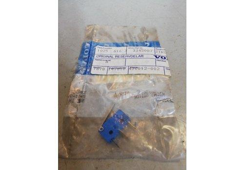 Microschakelaar CVT schakelpook automaat 3345087 NIEUW Volvo 343, 345, 340