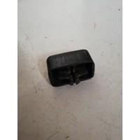 Drukknop bovenzijde schakelpook CVT transmissie zwart 381813-5 vanaf '76-'81 gebruikt Volvo 343, 345, 340