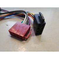 Connection cable ISO plug car radio 134702 NEW Volvo 440, 460, 480