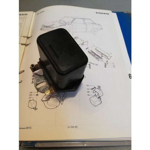 Ducelier 3100967-3 voltage regulator uses Volvo 66