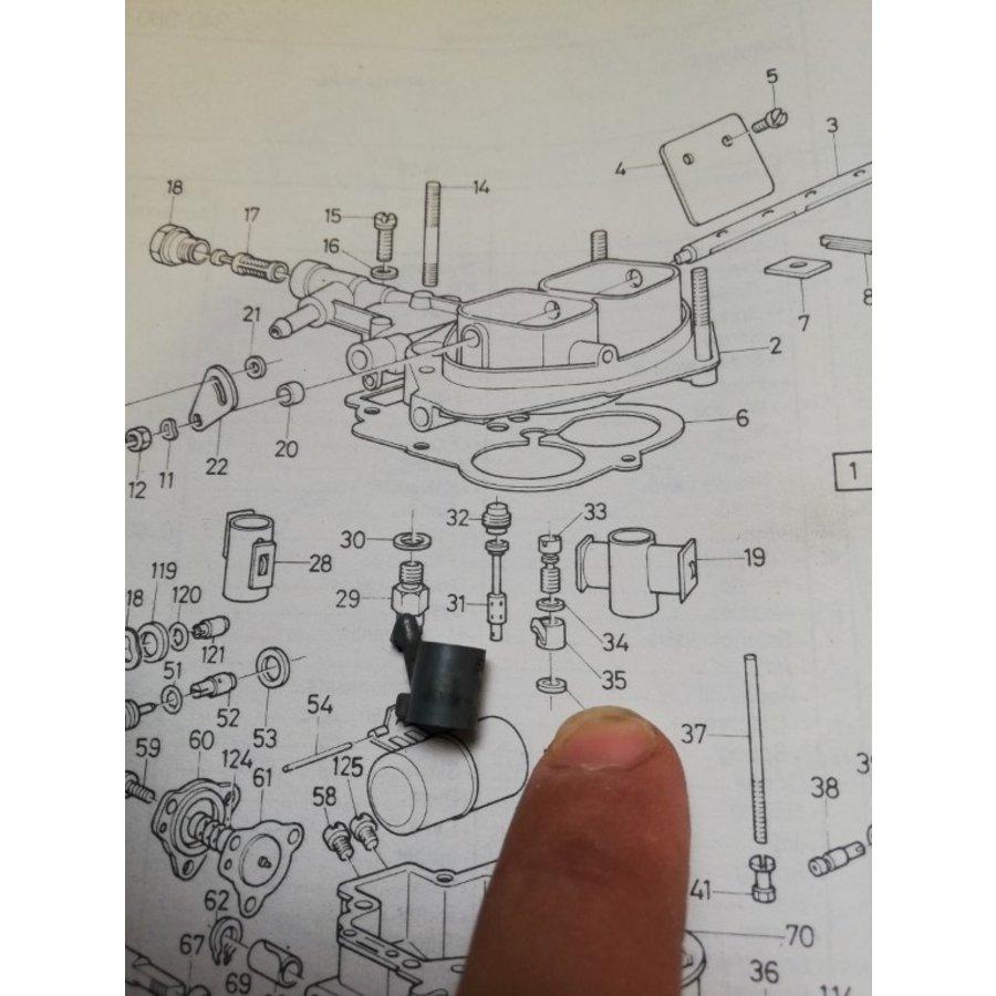 Brandstof injectiesproeier Weber carburateur 3287837-3 NIEUW Volvo 340