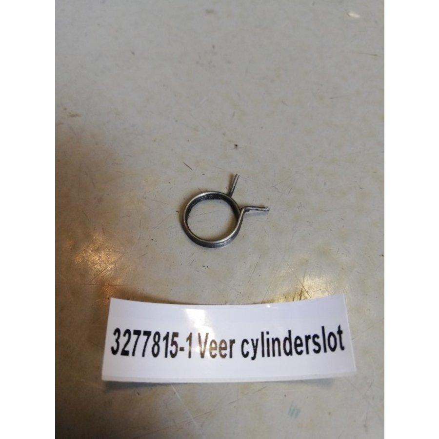 Spring behind cylinder lock door handle 3277815 used Volvo 340, 360