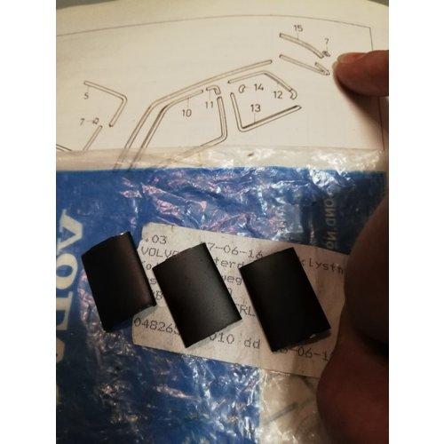 Verbindingstukje raamlijst achterruit zwart 3296527 NIEUW Volvo 340, 360