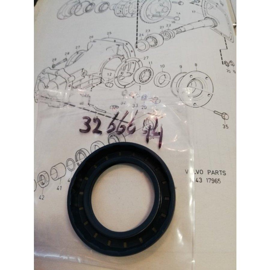 Oil seal differential - wheel axle M45R / M47R / M47RII 3266644-8 NEW Volvo 340, 360