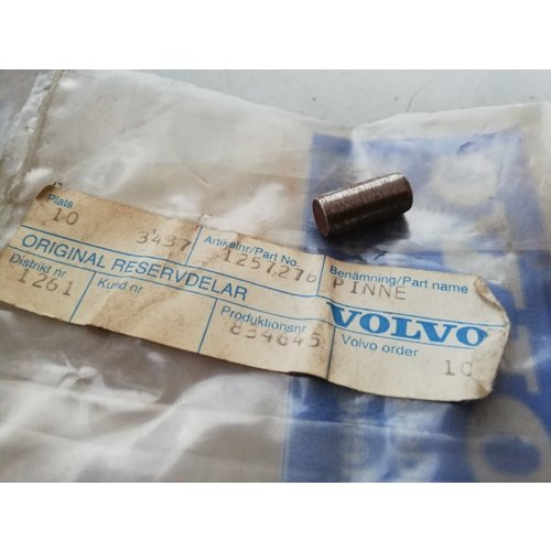 Pin D24TIC / D24T engine 1257276 NOS Volvo 240, 260, 740, 760