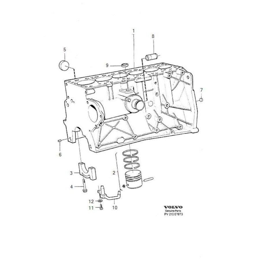 Pin D24TIC/D24T motor 1257276 NOS Volvo 240, 260, 740, 760