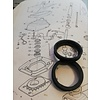 Volvo 300-serie Rubber bushing switch rod 1232605 from 1985 NEW Volvo 200, 300, 700 series