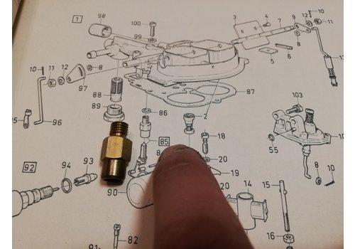 House float needle Weber carburetor 3267737-9 NOS Volvo 343, 345, 340