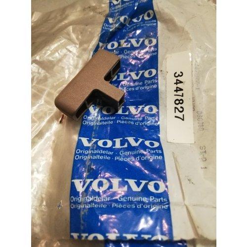 Knop achterbank ontgrendeling bruin 3447827 NOS Volvo 440, 460