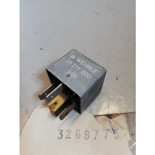 Relay fuel system B172/B18 engine 3268775 NOS Volvo 340, 440, 460, 480