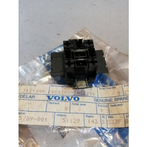 Stekkerverbinding, fitting koplamp H4 3121499 NOS Volvo 440, 460