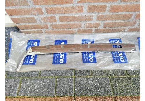Trim molding rear bumper chrome RH 3296342 NOS Volvo 340, 360