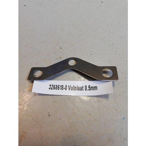 Vulplaatje drukgroep koppeling B14 motor CVT variomatic 3268618-0 Volvo 343, 345, 340