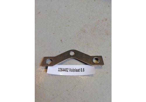 Filling plate pressure group coupling B14 engine CVT variomatic 3264402 Volvo 343, 345, 340
