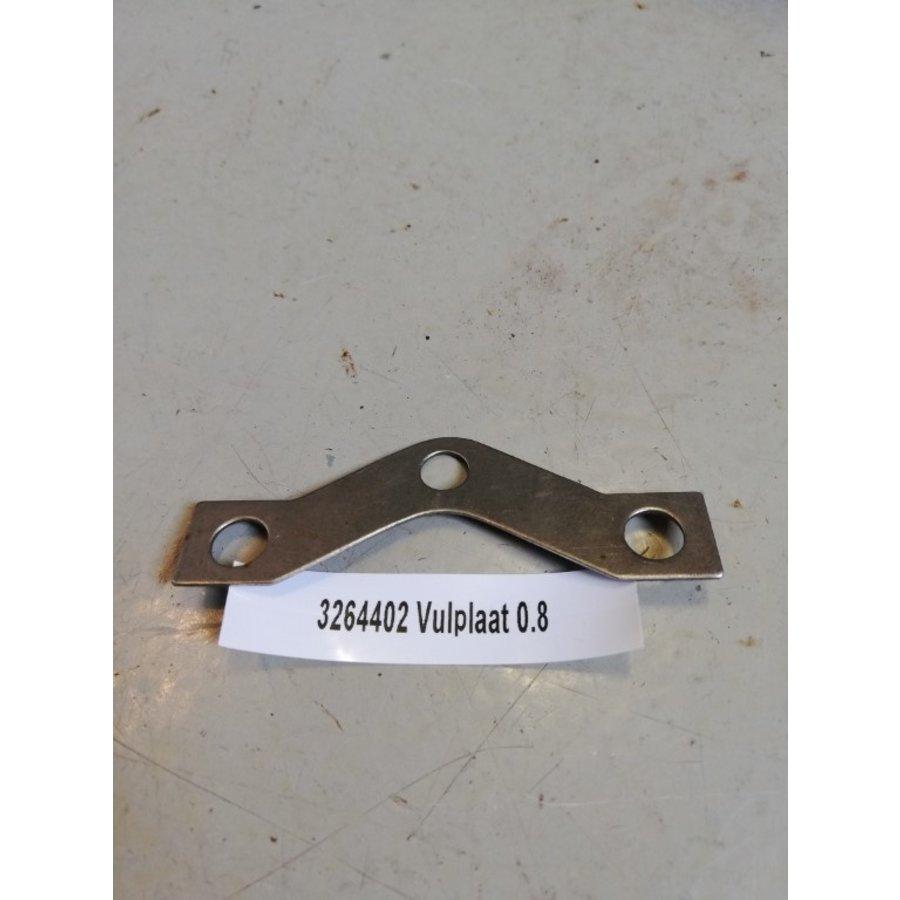 Vulplaatje drukgroep koppeling B14 motor CVT variomatic 3264402 Volvo 343, 345, 340