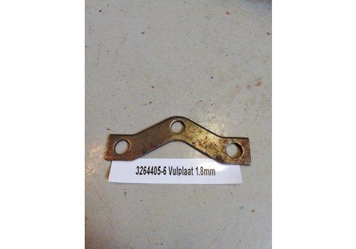 Vulplaatje drukgroep koppeling B14 motor CVT variomatic 3264405-6 Volvo 343, 345, 340