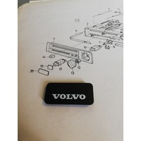 Cover plate heater ventilation control panel 3212192-3 NOS Volvo 340, 360