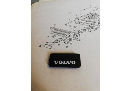 Afdekplaatje kachelventilatie bedieningspaneel 3212192-3 NOS Volvo 340, 360